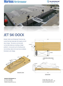 Data Sheet - Marinas Performance Jet Ski Dock