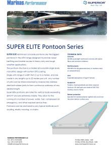 Data Sheet - Marinas Performance Super Elite